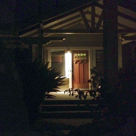 My 98 year-old bungalow, with its broad front porch...