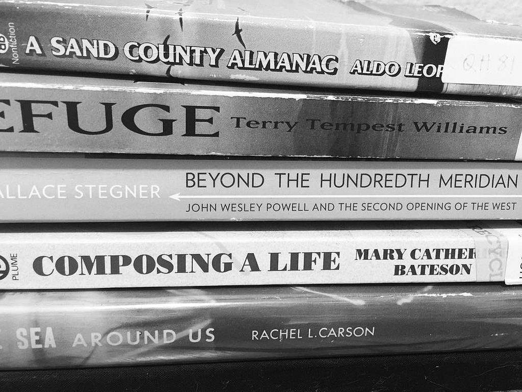 books on my desk