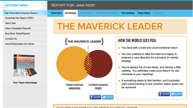 maverick leader description