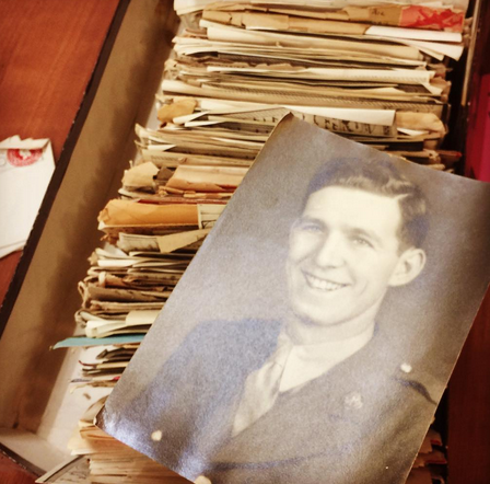 war letters photo